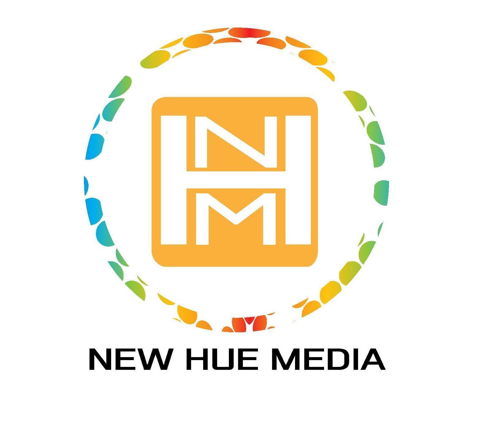 new hue media logo