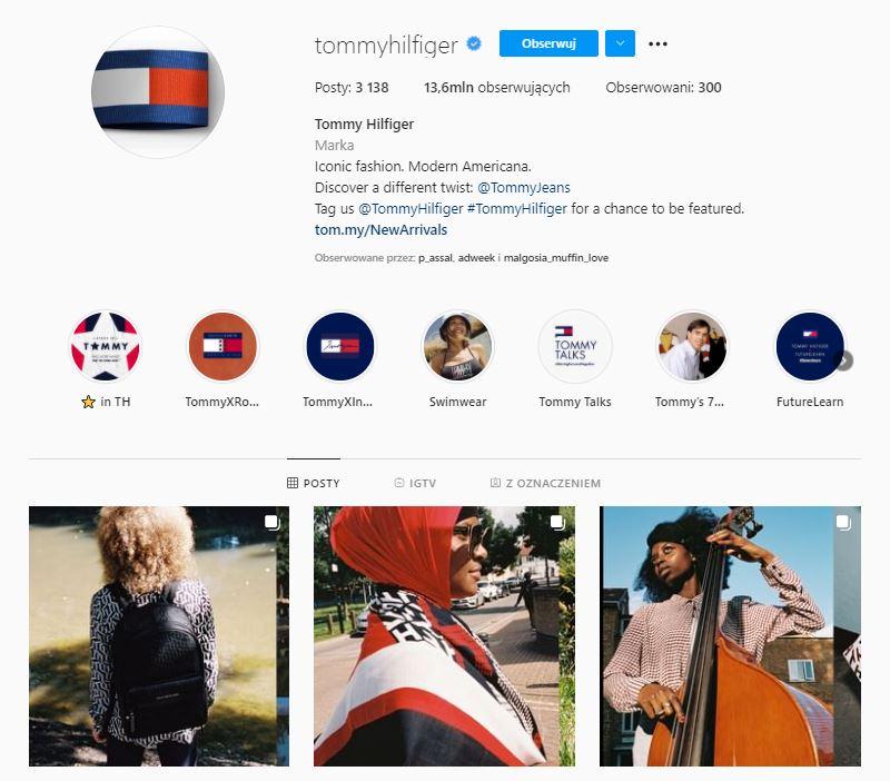Instagram Tommy Hilfinger