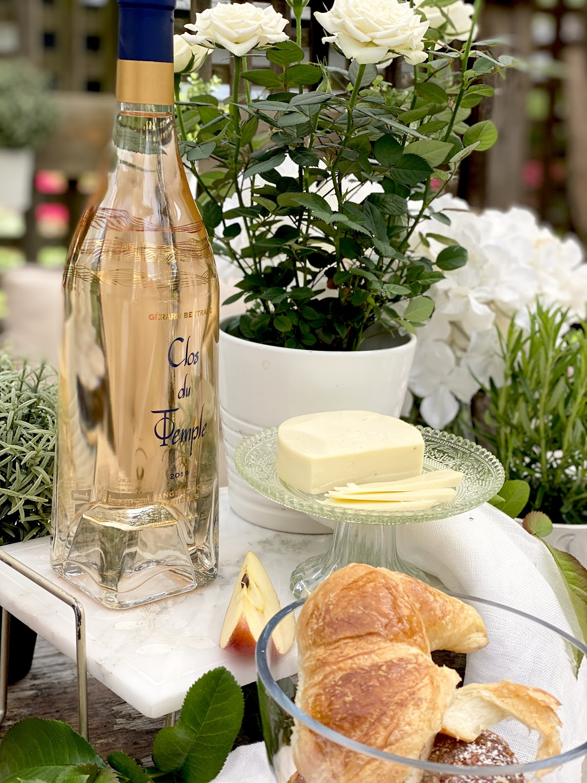 alison kent the home kitchen 5 week series blog on rose wine with barb wild of the good wine gal rose wines selection featuring clos du temple gerard bertrand