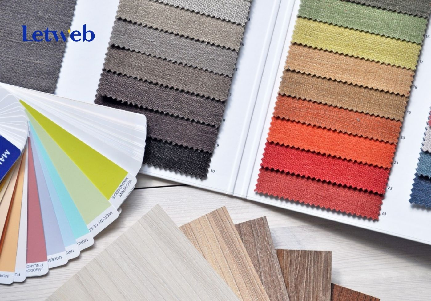 Màu sắc đóng vai trò quan trọng với giao diện website