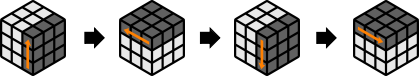 algoritma solving buttom layer