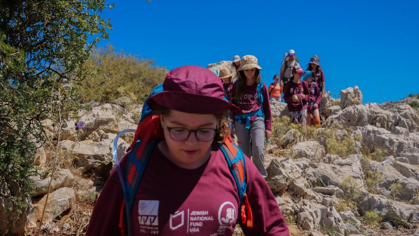 Green Horizons teens explore Israel's great outdoors (Courtesy: JNF-USA)
