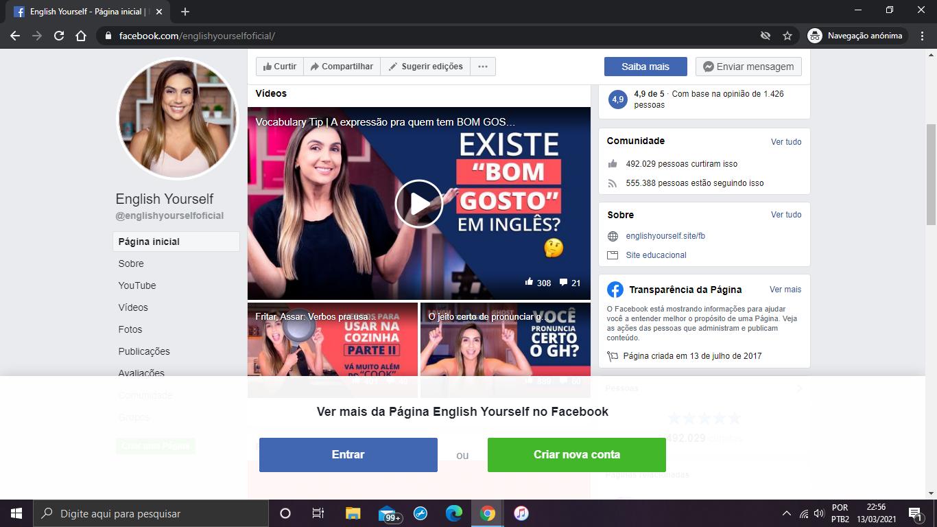 Facebook Lilian Bittencourt