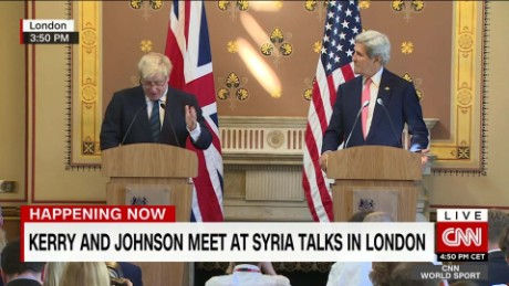Billedresultat for boris johnson and kerry