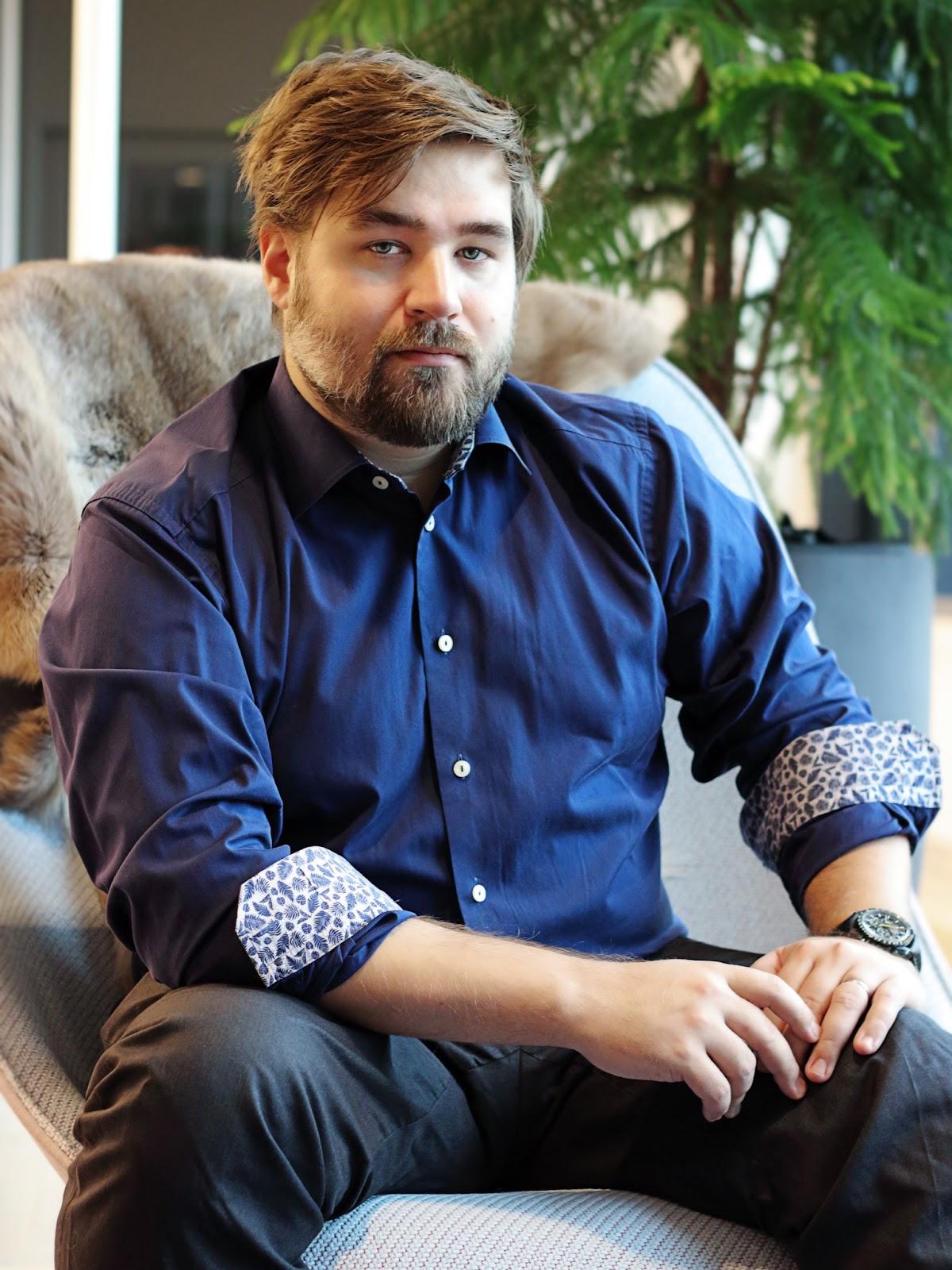 Johan Pilestedt, CEO and founder of Arrowhead