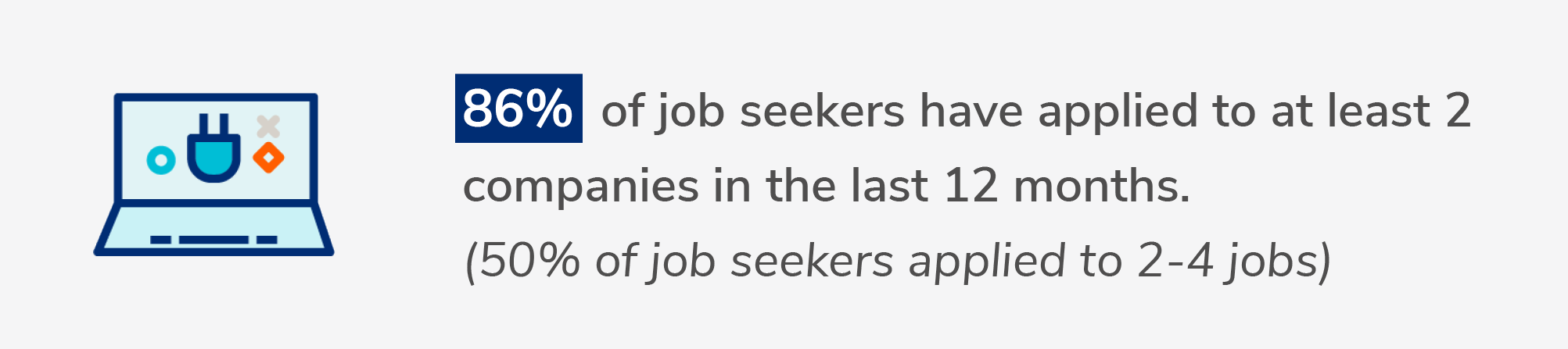 how many jobs do job seekers apply to