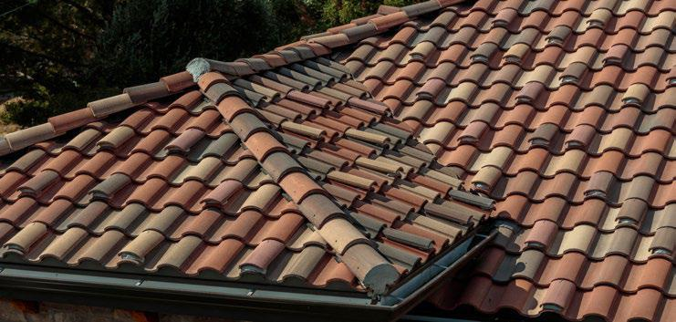 Close-up of a roof