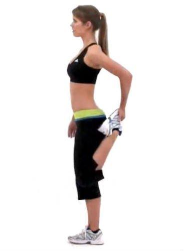 Alongamento do músculo da coxa