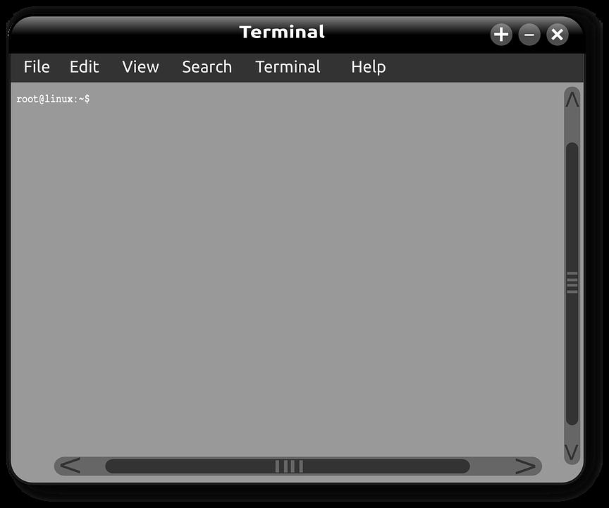 Linux, Window, Terminal, Command, Computer, Minimize