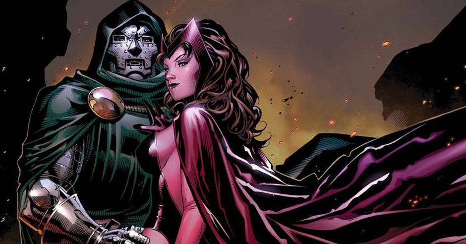 Image result for wanda and doctor doom