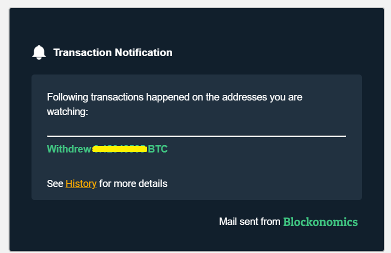 blockonomics transaction notification review