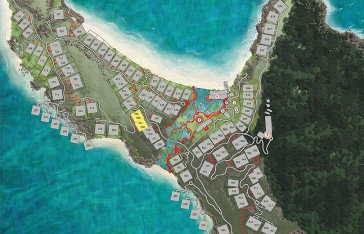 Sơ đồ mặt bằng xây dựng dự án Premier Villageg Phú Quốc Resort