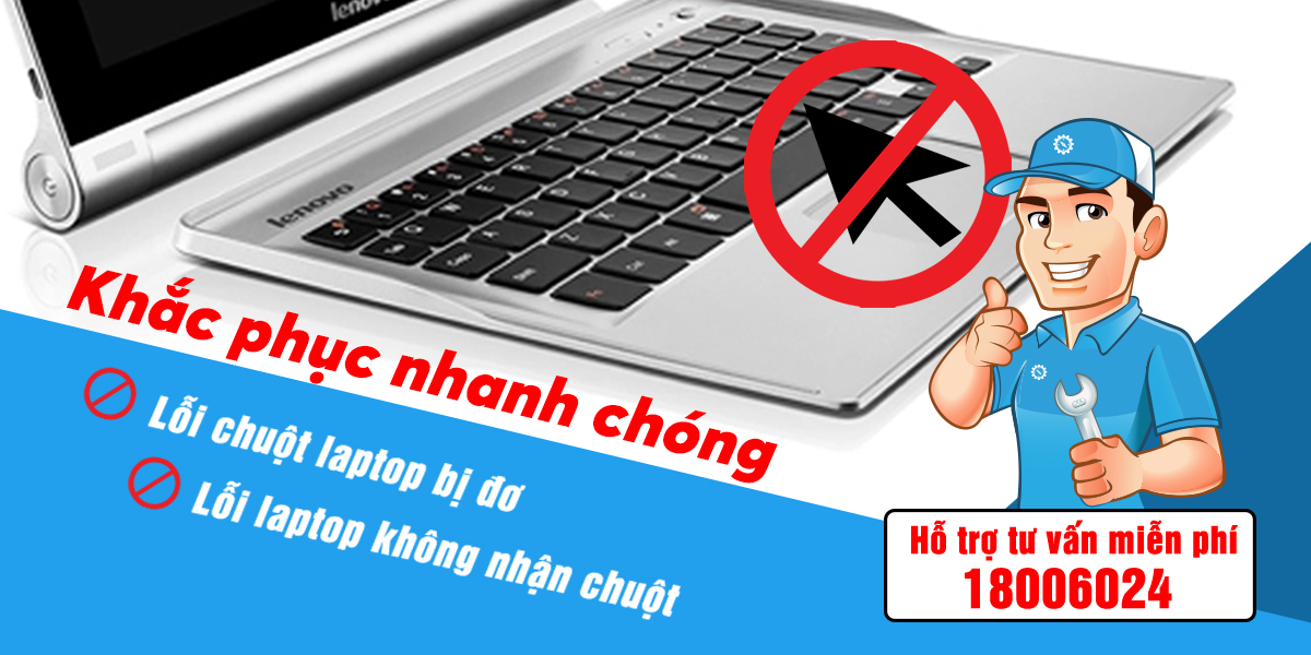 chuột cảm ứng laptop bị đơ