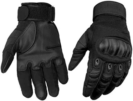 Amazon.com : HOMEE Tactical Gloves Touch Screen Military Rubber ...