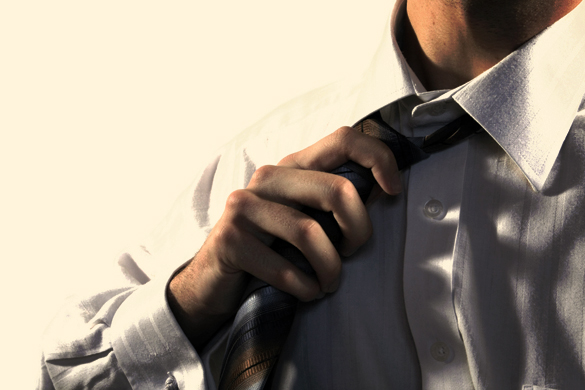 7. Rectifying or releasing a tie.