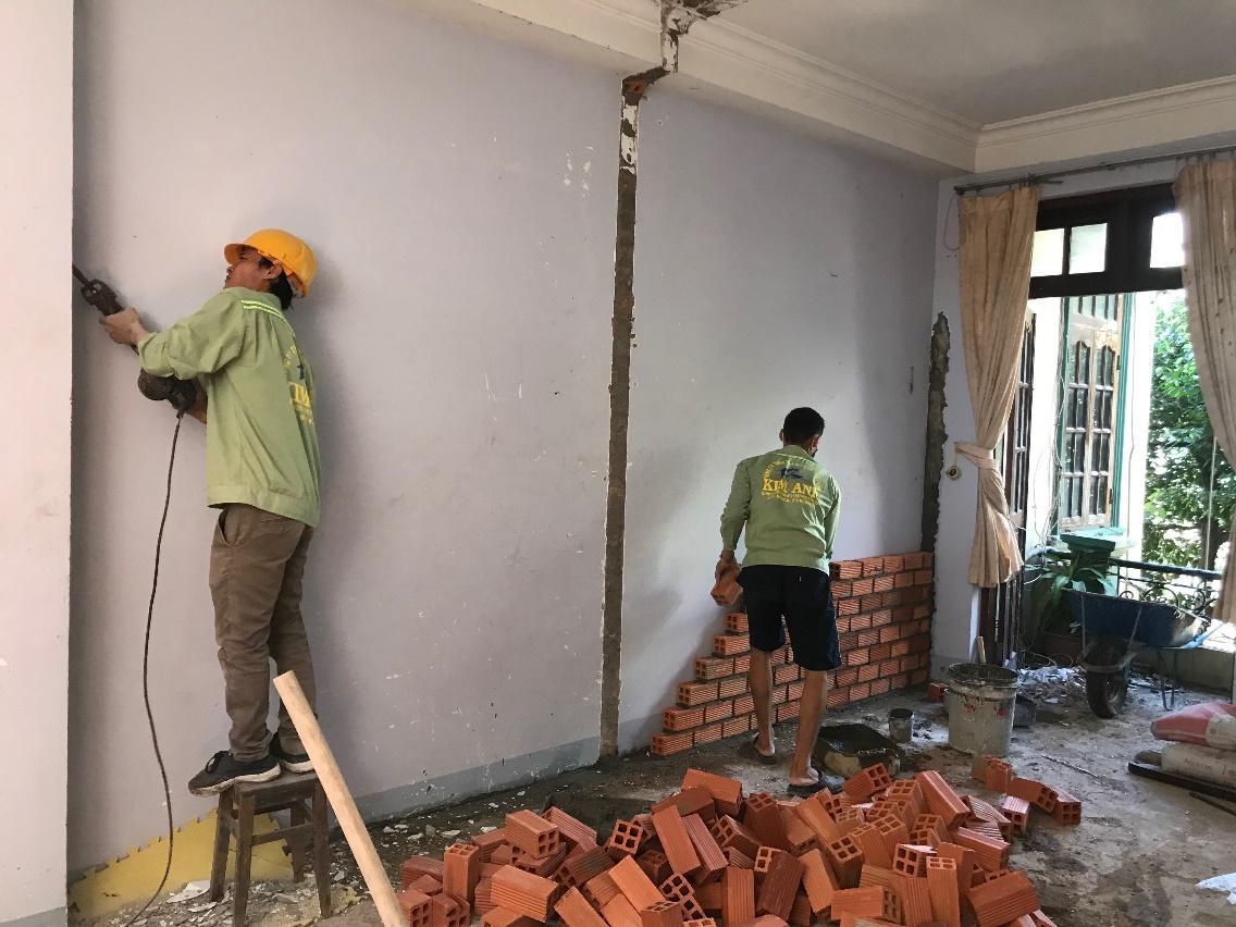 Báo giá dịch vụ sửa chữa nhà