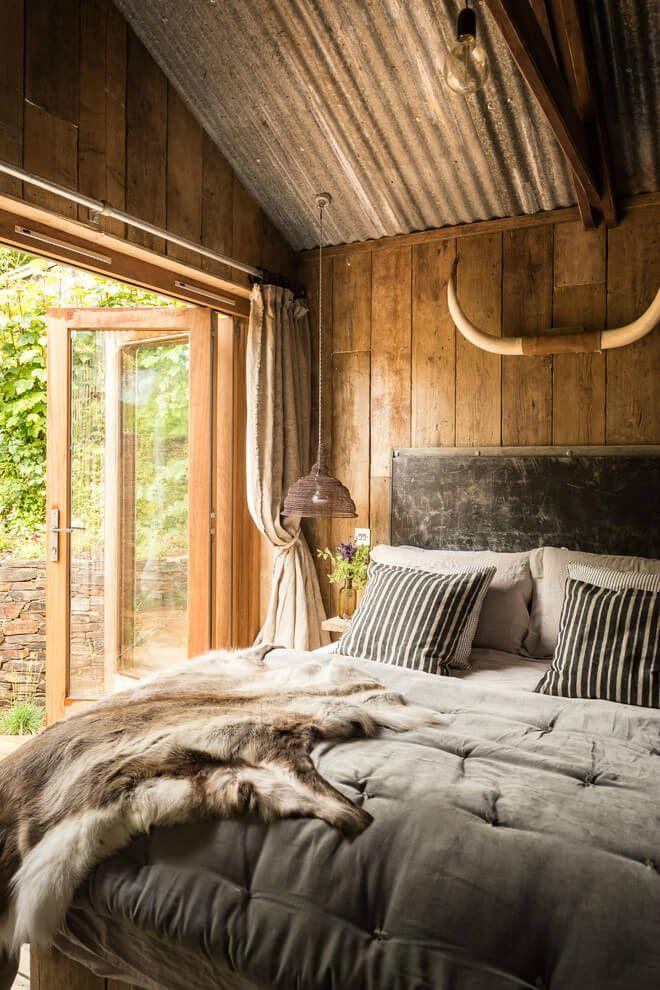 Wooden Farmhouse Bedroom
