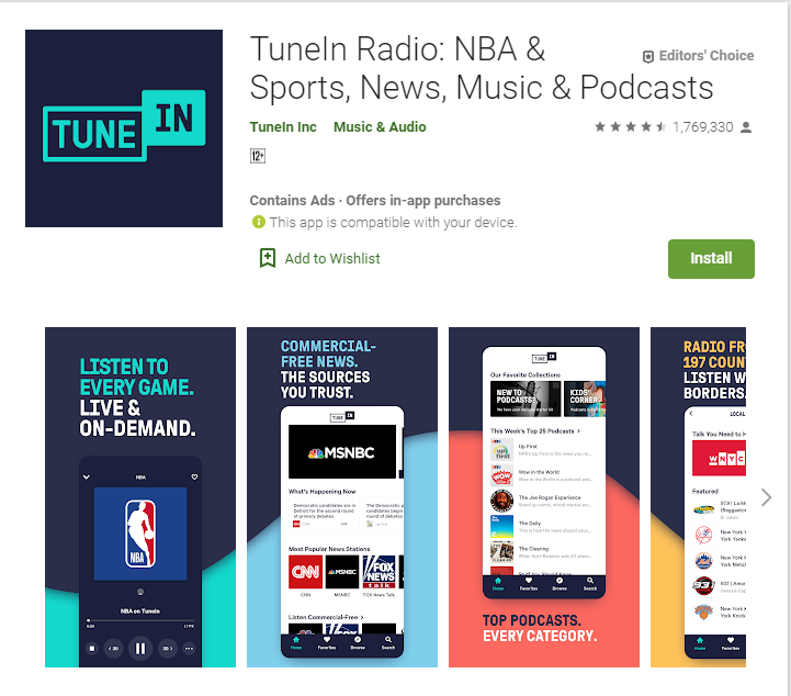 use fm radio apps without internet connection