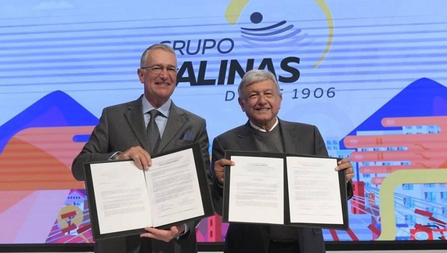 Agradece Salinas pliego invitación de AMLO a Estados Unidos - ContraRéplica  - Noticias