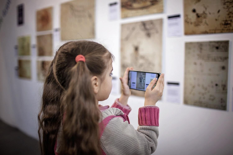 Realidad aumentada en un museo