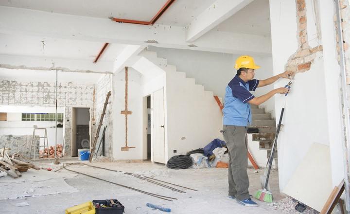 Có nhiều hạng mục trong dịch vụ sửa chữa nhà tại địa bàn thành phố Hồ Chí Minh