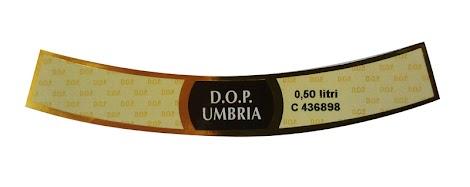 Esempio del contrassegno DOP Umbria