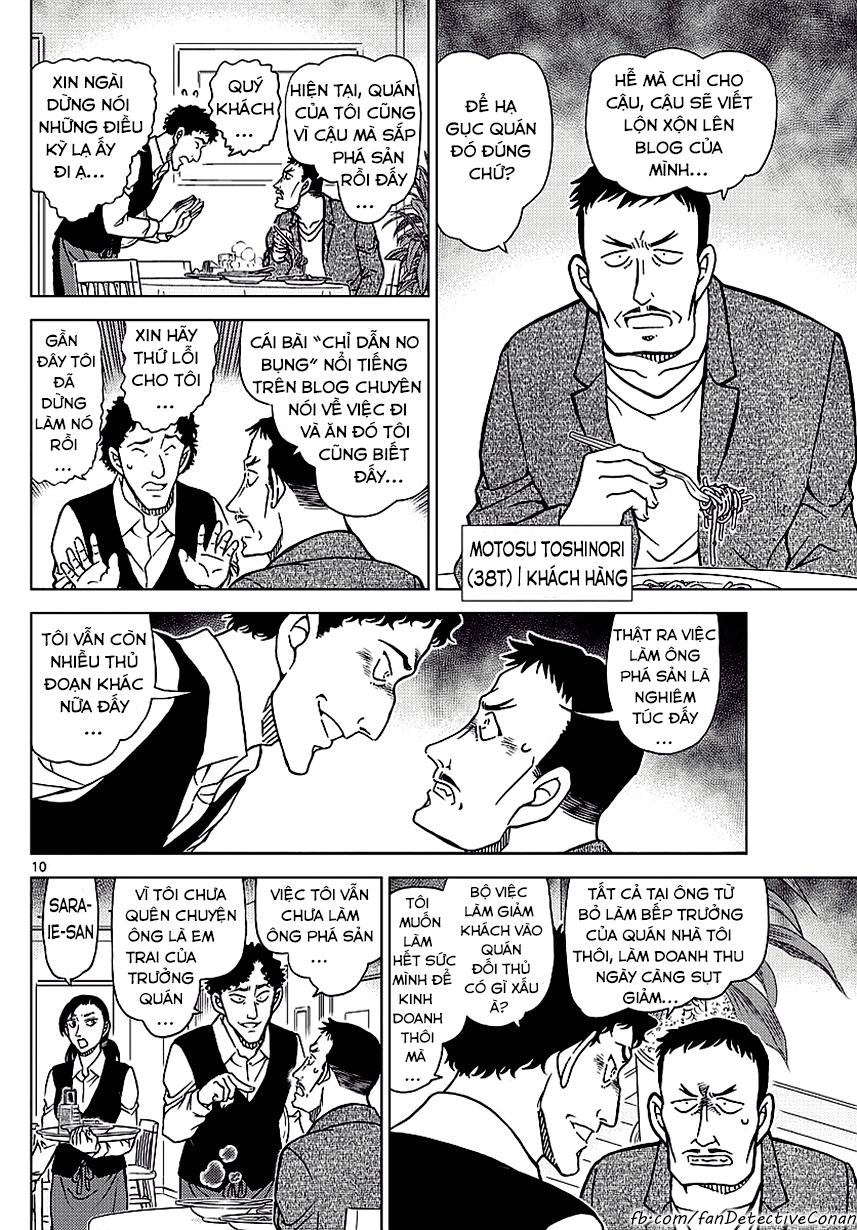 Thám Tử Lừng Danh Conan - Chapter 994 - Pic 10