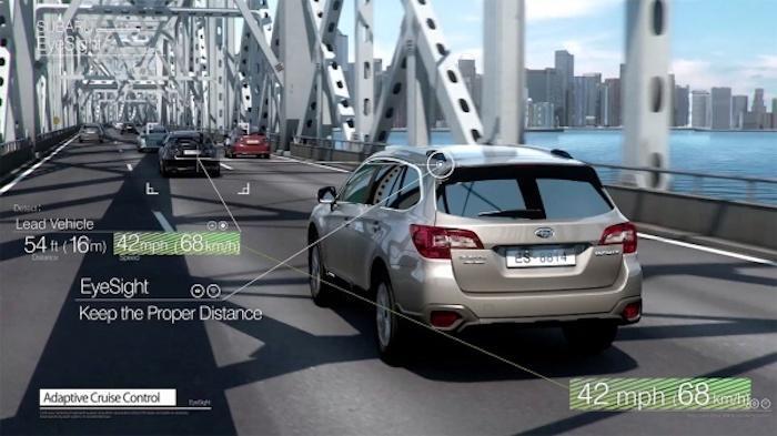 EyeSight เป็นระบบความปลอดภัยสุดล้ำช่วยลดอุบัติได้จริง โดยจะอยู่ใน Subaru Forester 2.0 i-S EyeSight เท่านั้น
