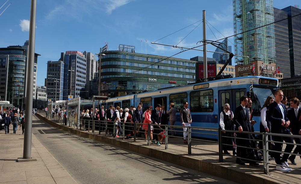 Transporte público ganhou força com a implementação de medidas do Visão Zero. (Fonte: Shutterstock)