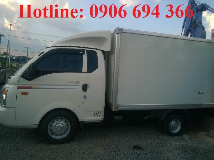 Bán xe tải Hyundai 1 tấn đông lạnh đời 2012, Hyundai Porter II đời 2012 nhập khẩu nguyên chiếc