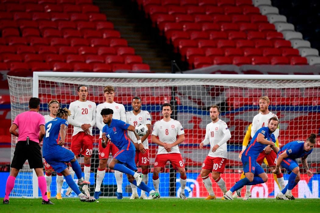 Lần đối đầu gần nhất, Đan Mạch đã đánh bại Anh