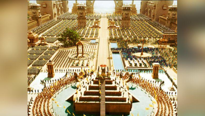 Image result for ramoji film city Bahubali set