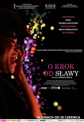Polski plakat filmu 'O Krok Od Sławy'
