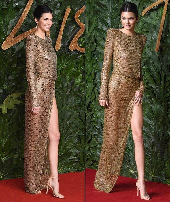 """Description: Image result for kendall jenner gold sparkly dress"""""""