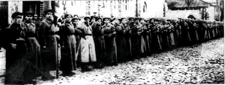 Они подавляли Куреневское восстание: батальон особого назначения Киевской ГубЧК