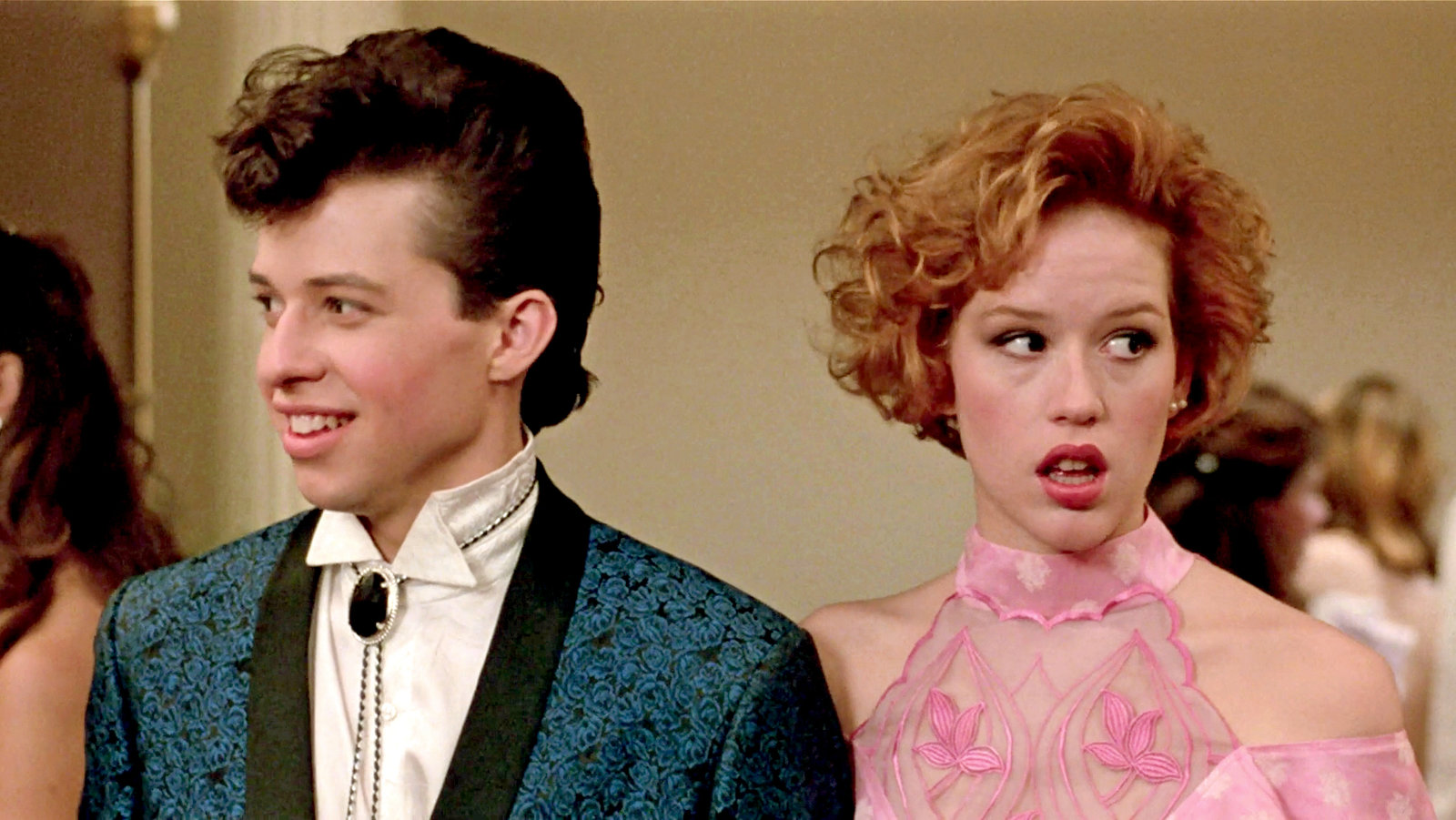 """Image of Duckie and Andy from """"Pretty in Pink"""" at prom"""
