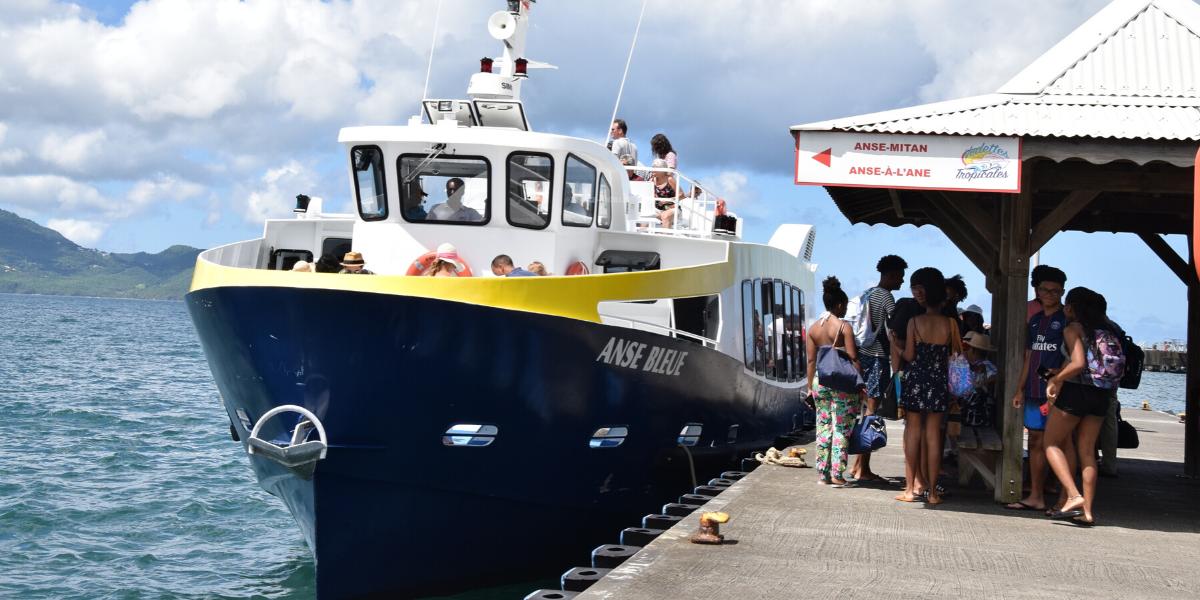 Bateau-navette Martinique au départ de Fort-de-france
