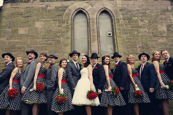 Throwback Ideas That Invoke Fun and Nostalgia - the 1930s where the rise of gangsters and Tommy guns, John Dillinger, Al Capone, Bonnie and Clyde – Wedding Soiree Blog by K'Mich, Philadelphia's premier resource for wedding planning and inspiration