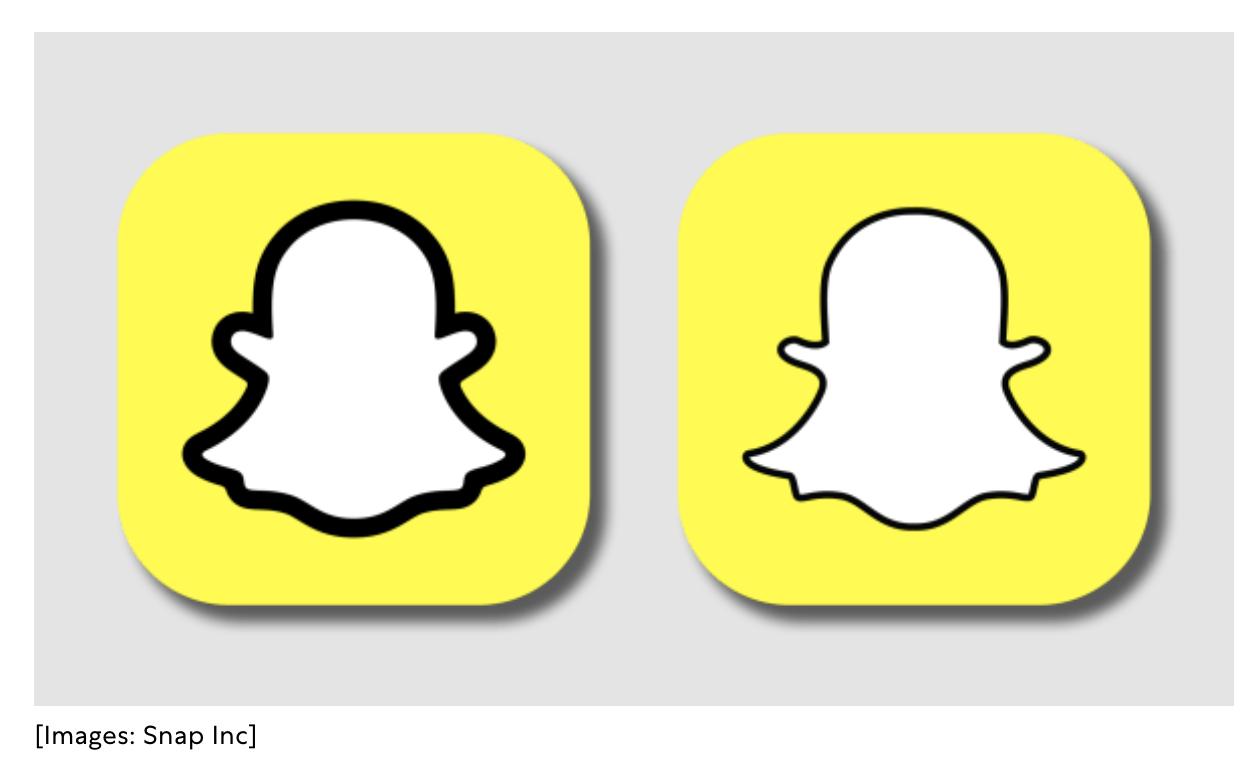 Snapchat logo rebrand