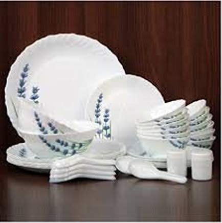 Laopala English Lavender Novo Collection Opalware Best Dinner Sets In India