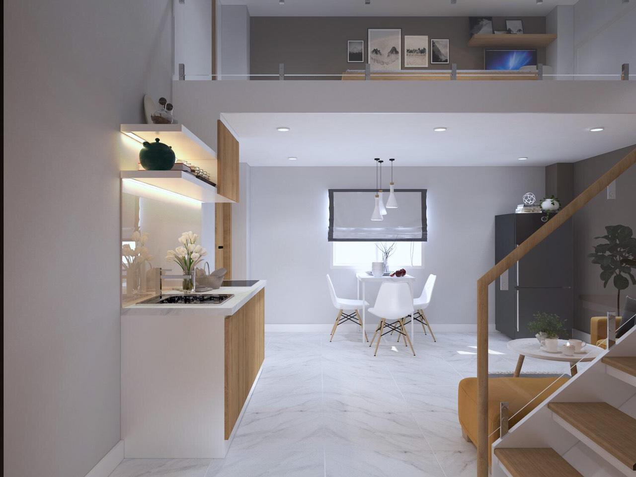 Thiết kế của các căn hộ mang đến sự thông minh và tiện ích