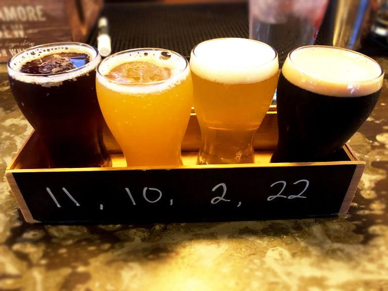 Burlington Vermont, Flight, Beer, The Growler
