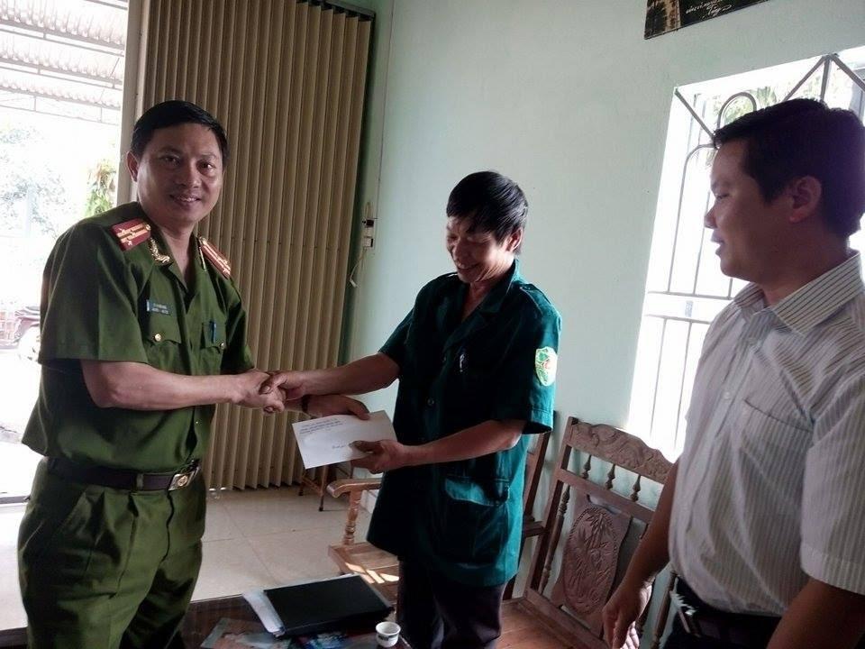 Ban quản lý thôn 6, thị trấn Plei Kần gửi thư cảm ơn đến tập thể lãnh đạo và cán bộ chiến sỹ Công an huyện Ngọc Hồi