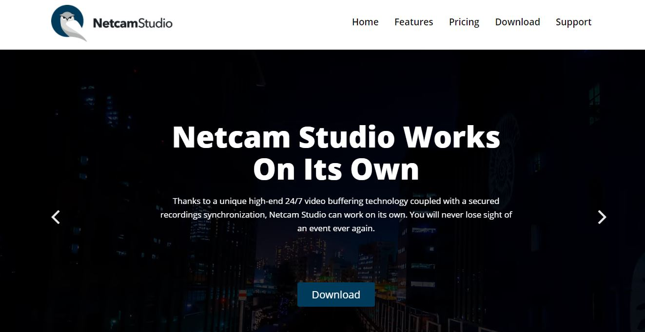 NetcamStudio IP Camera Software