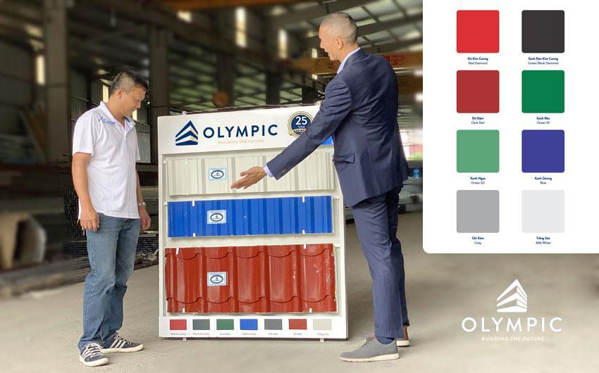 Tôn Olympic - thương hiệu uy tín gửi gắm công trình