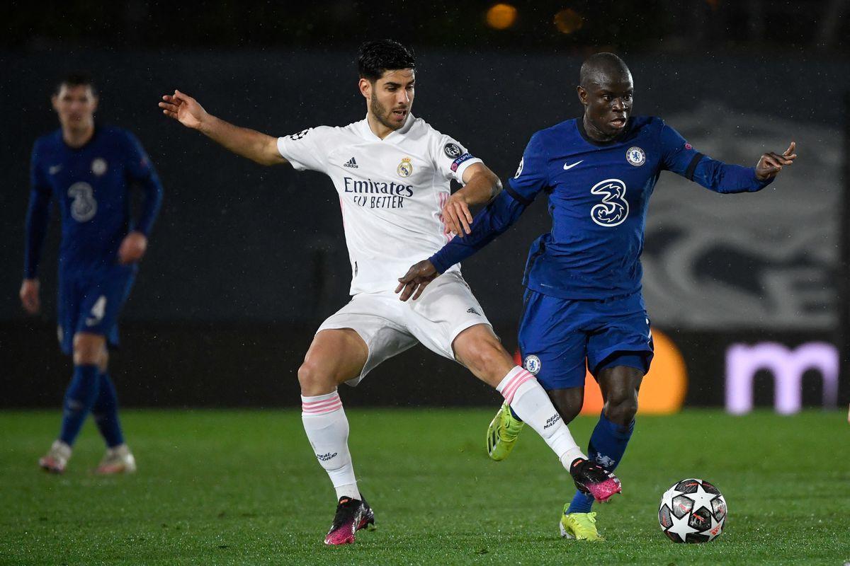 Chelsea và Real Madrid đã hòa nhau 1-1 ở trận lượt đi