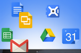 Floating Google apps