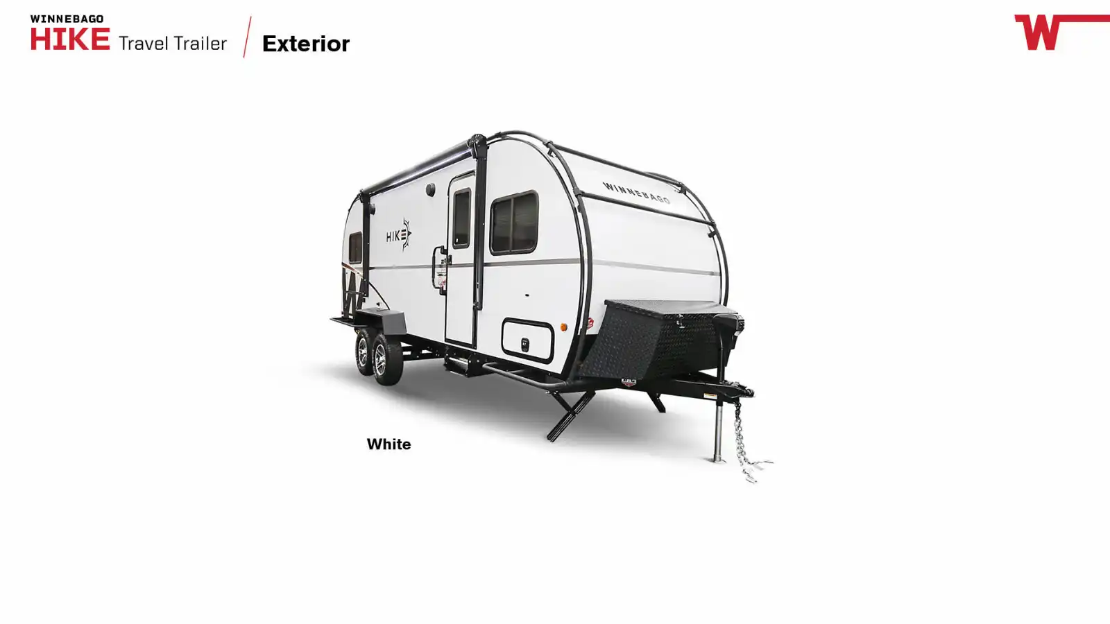 lightweight camper for active people and exploreres winnebago hike