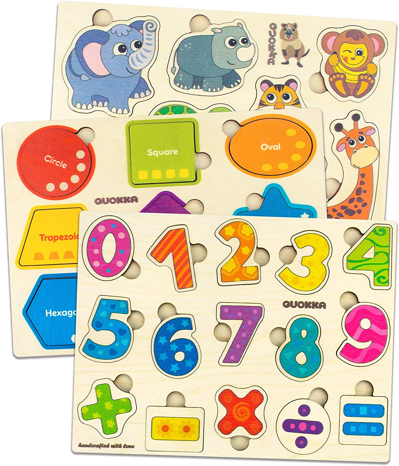 Cheap wooden puzzle for kids
