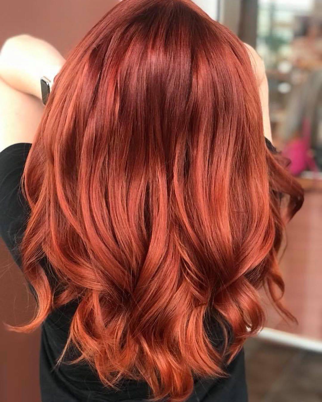 màu nhuộm tóc hot